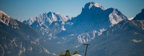 The mountains of Bavaria