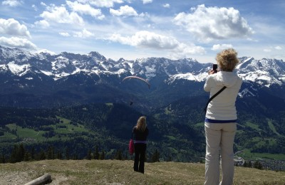 Zugspitze Mountain View - All Things Garmisch